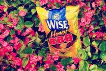 Wise Products / All of your favorite snacks are made from high-quality ingredients and bursting with delicious flavor.  Check them out in their element here! / by Wise Snacks