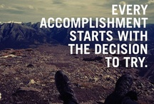Motivation!  / Some images and quotes that inspire and motivate us at Yogi Clothing. / by Yogi Clothing