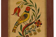 Fraktur / I think that my love for fraktur comes naturally.  I continue to search for pieces that might be attributed to Philip HELICK/HELIG, school master in both Easton and Dryland, Northampton County, PA in the late 1770's to at least the mid 1780's.  If anyone ever runs across that name as being the artist of any fraktur or presentation from that era, I would certainly be glad to know! / by Dorothy Holgate