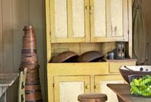 Primitive rooms / Primitive room settings! Shows how different people arrange their prim treasures in a room setting. / by Denise Tedesco Waldman