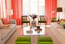 Living rooms / Living rooms in a budget. Ideas. Decoration / by Caroline Garland