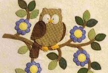 OWL QUILTS / by Dorte Rasmussen.Denmark