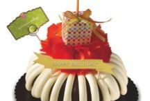 Have a Happier Birthday with Nothing Bundt Cakes / Nothing Bundt Cakes makes birthdays happier. Celebrate the occasion with one of our hand-decorated bundt cakes, bundtlets or a box of bundtinis.  / by Nothing Bundt Cakes