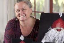 ART/QUILT BIRGITTE BUSK DK / very talented quilt/art designer from our little country, look at www.birgittebusk.dk. She make her art on a ordinarily sewingmachine. Just wow.. / by Dorte Rasmussen.Denmark