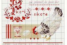 grille de points de croix / by marie frigerio