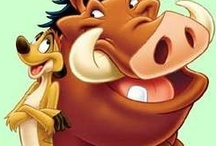 Pumbaa love / Amassing the largest collection of Pumbaa's in the world (according to my husband)! / by Nathelle