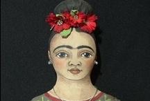 Frida Kahlo / Fridomania experiment / by Adriana Kon