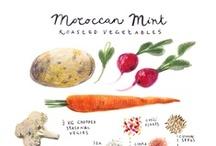Illustration Food Recipes / by Adriana Kon