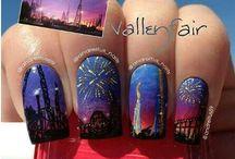 Nail Art(`_´)ゞ / Nail art / by Joy ✌