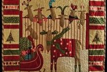 CHRISTMAS QUIILTS AND WALLHANGINGS / by LindaKay Pardee