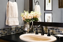 Bathroom Ideas / by Laura Basso Savino