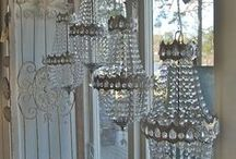 Chandeliers and Sconces / Beautiful light fixtures... / by Brenda Boston