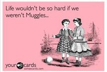 Harry Potter ♥ / I'm secretly a witch undercover in the muggle world... ;) / by Delia