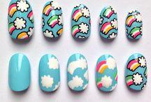 Nail Art / Paint and Polish Designs / by Sarah Nichols