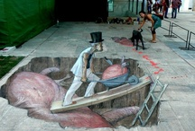 3D Sidewalk Art/Street Art / by Arlene Lanius