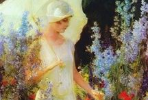 Charles Courtney Curran / by Kimberly Chaussee
