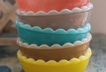 Py Py Pyrex ~ / Pyrex, dishes / by Laura Adams