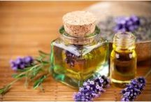 aromatherapy, essential oils, & carrier oils~ / by Korie Wright