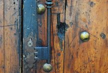 Keys...  Doorknobs ..... / Just love all the old keys , locks , doors , these are too cool !!!!  / by Chris