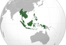 ASEAN / ASEAN covers a land area of 4.46 million km², which is 3% of the total land area of Earth, and has a population of approximately 600 million people, which is 8.8% of the world's population. The sea area of ASEAN is about three times larger than its land counterpart. In 2012, its combined nominal GDP had grown to more than US$ 2.3 trillion. If ASEAN were a single entity, it would rank as the eighth largest economy in the world. / by Mak Sukan