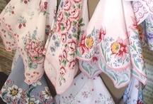 Vintage aprons.hankies... / by ayumi matsuoka