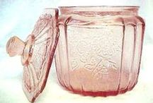 Depression Glass / I love beautiful, useful things with a history. / by Cindi Lou