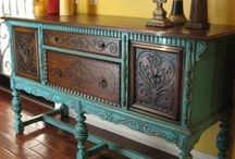 painted furniture ideas / by Kerri Forester