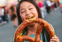 Fair Food / Deep-fried, battered, on a stick, on a platter. Nom, nom, nom... / by Los Angeles County Fair (LACF)