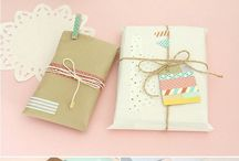 Boxes & Envelopes & Wrapping & Package & Bags & Tags / by Analu
