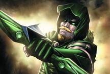 "DC Comics. Green Arrow. / #green arrow #dc comics #detective comics #dc #Oliver Jonas ""Ollie"" Queen #oliver queen #justice league of america #superhero  / by Yan L"