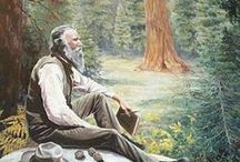 Muir & Nature Explorers / John Muir and other nature explorers, authors, and conservationists. Also miscellaneous tree hugger and green stuff. / by Terri Guillemets