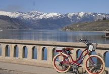 Lake Chelan / Beautiful lake Chelan. How we love our little house in the valley, where the sun's always shining. / by syd