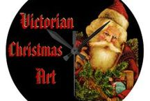 *** VICTORIAN CHRISTMAS CARDS and ART / by Dandy Mariella
