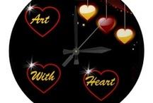 ** ART WITH HEART / Valentine's, Love, Hearts / by Dandy Mariella