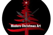 "*** MODERN ART OF CHRISTMAS / All kinds of newer Christmas ""art"" and designs. / by Dandy Mariella"