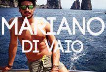 Model Mariano Di Vaio / by BANG+STRIKE