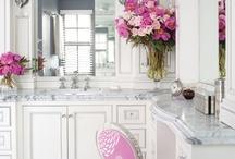 BATHING Beauties / #Bathrooms / by Terri Davis Art + Design