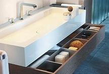 BATHROOM Storage / by Terri Davis Art + Design
