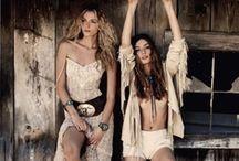 Boho Style Western ,Gypsie Style Gitans / Shabby chick ,boho dresses,western clothing,gypsie,military fashion  Romantic , / by Danielle Susman