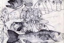 sketching / by Maria Berg-Leirvåg