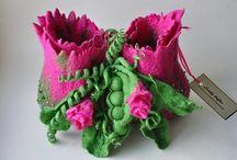 Felting Creative / Best felting Pinterest ,felted art,cloth,scarves,bags,tutorials / by Danielle Susman