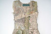 Fabric creations hand made / Textile creation,material,sewing,embroidery Fabric art, / by Danielle Susman