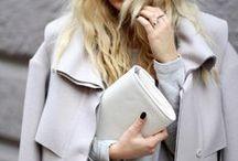 - - Shades of grey//Fashion inspo - - / by Katia Nikolajew // Bewolf Fashion