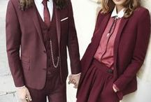 - - Burgundy palette//Fashion inspo - - / by Katia Nikolajew // Bewolf Fashion