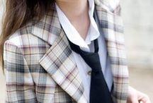 - - Mad for plaid//Fashion inspo - - / by Katia Nikolajew // Bewolf Fashion