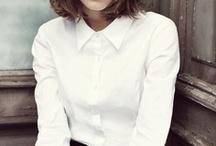 - - Crisp white shirt//Fashion inspo - - / by Katia Nikolajew // Bewolf Fashion