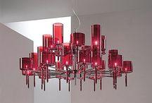 Lighting : chandeliers / by Lill Venke Hustvedt