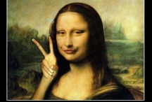 Being Silly: Mona Lisa / by Christina Stephenson