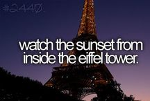 """{My Bucket List} / """"One day your life will flash before your eyes, make sure its worth watching.""""  / by {вєƖƖɑ}"""