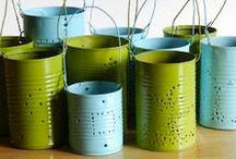 Repurpose, Reduce, Reuse, Recycle - Go Green / by Yolanda Sopranos